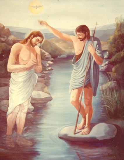Chrzest Pana Jezusa w Jordanie - Czytanie na dzień 5 stycznia 2020 - druga niedziela po Narodzeniu Pańskim