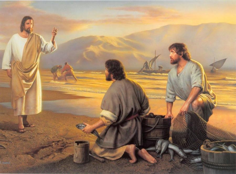 jezus rybakiem 900x662 - Czytanie na sobotę 8 czerwca 2019