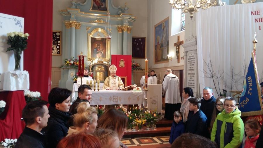 20180402 124803 900x506 - Wizyta księdza Biskupa Romana Marcinkowskiego