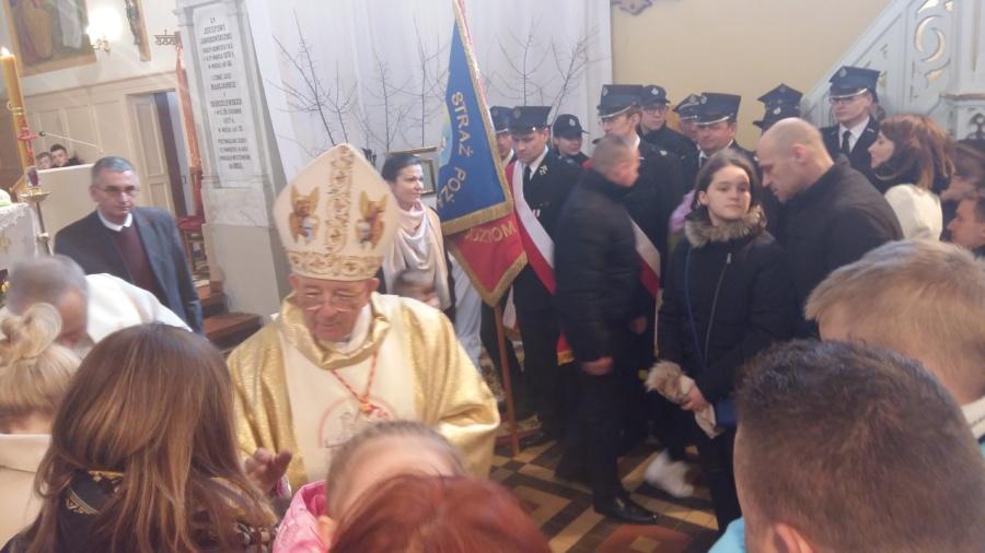 20180402 125337 900x506 - Wizyta księdza Biskupa Romana Marcinkowskiego