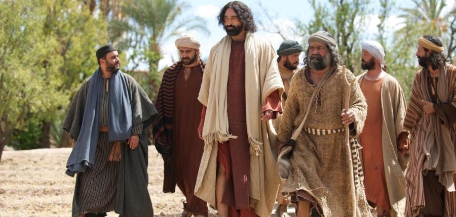 jezus i uczniowie 900x429 - Czytanie na środę 10 kwietnia 2019