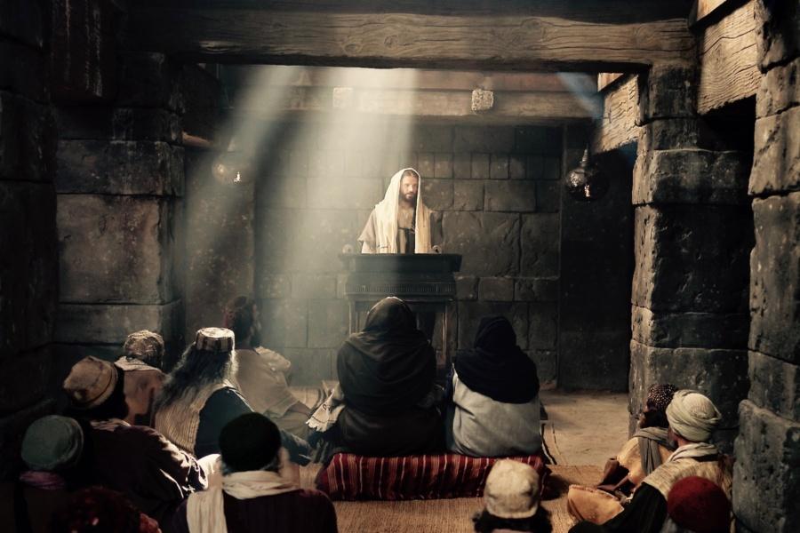 Jesus Synagogue 900x600 - Czytanie na niedzielę 3 lutego 2019