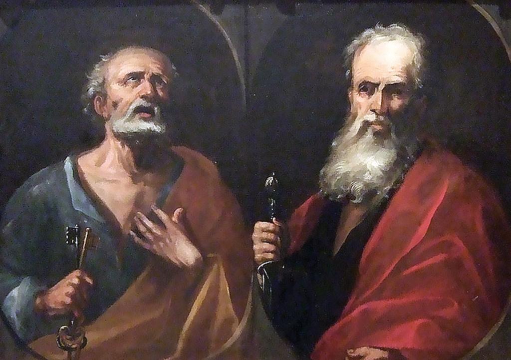 Swieci Piotr i Pawe 1024x721 - Patron Parafii św.ap. Piotr i Paweł
