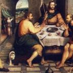 jezus za stolem 144x144 - Parafia Radzymin