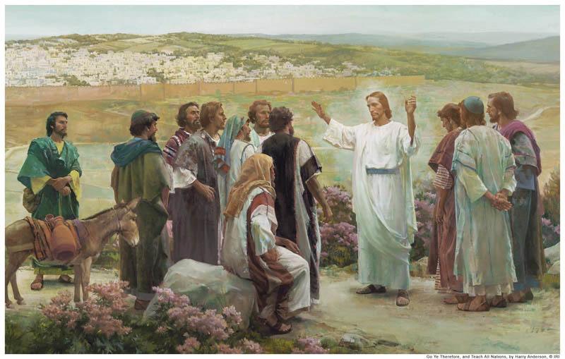 jezus i apostolowie - Czytanie na poniedziałek 3 czerwca 2019