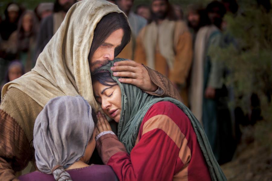 Jesus Christ and Mary 900x600 - Czytanie na dzień 21 lipca 2019 - XVI Niedziela zwykła