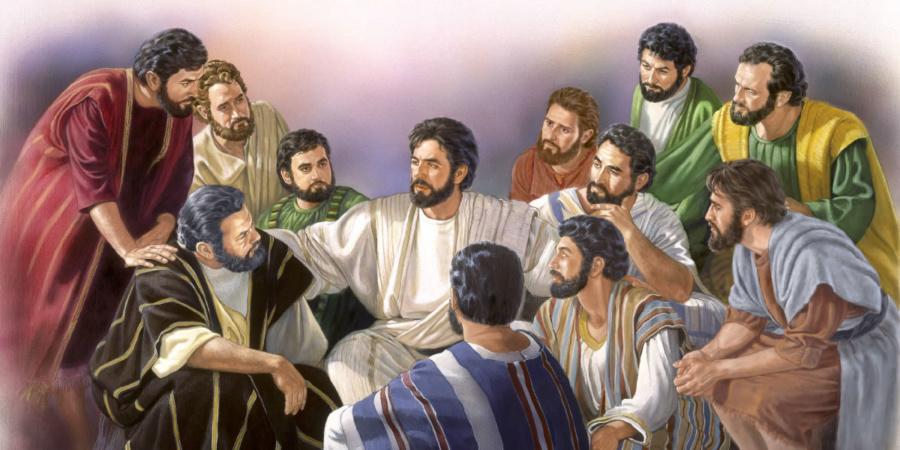 jezus i uczniowie nauka 900x450 - Czytanie na wtorek 28 maja 2019