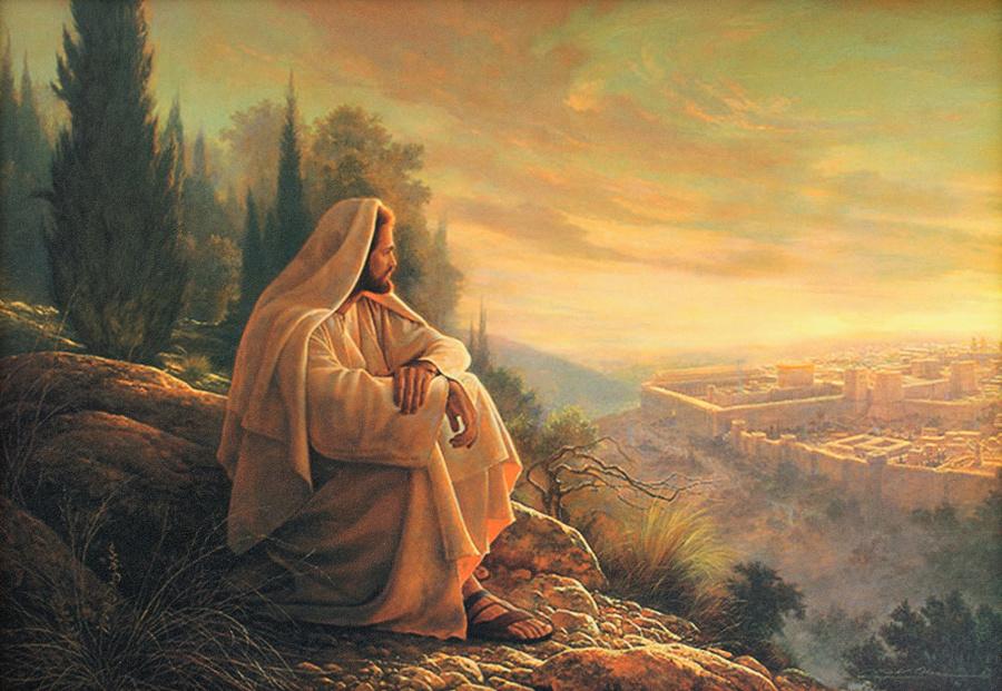 jezus i jerozolima 900x621 - Czytanie na wtorek 17 września 2019
