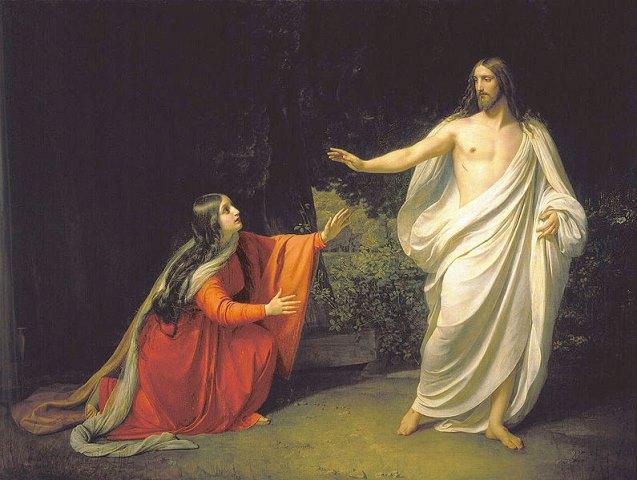 Maria Magdalena Pan Jezus Chrystus - Czytanie na Wtorek w oktawie Wielkanocy 23 kwietnia 2019