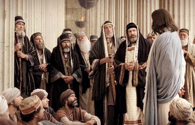 faryzeusze i jezus - Czytanie na sobotę 13 kwietnia 2019
