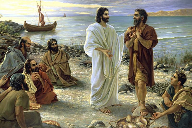 jezus polow ryb - Czytanie na poniedziałek 1 lipca 2019