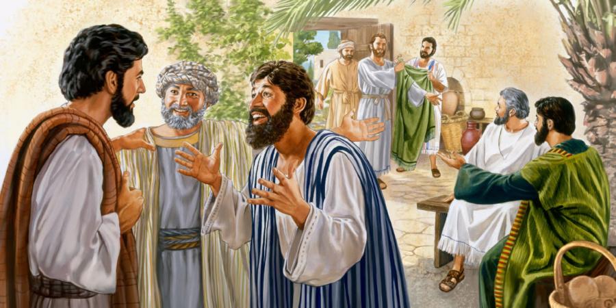 jezus 2019 900x450 - Czytanie na dzień 10 listopada 2019 - XXXII Niedziela zwykła