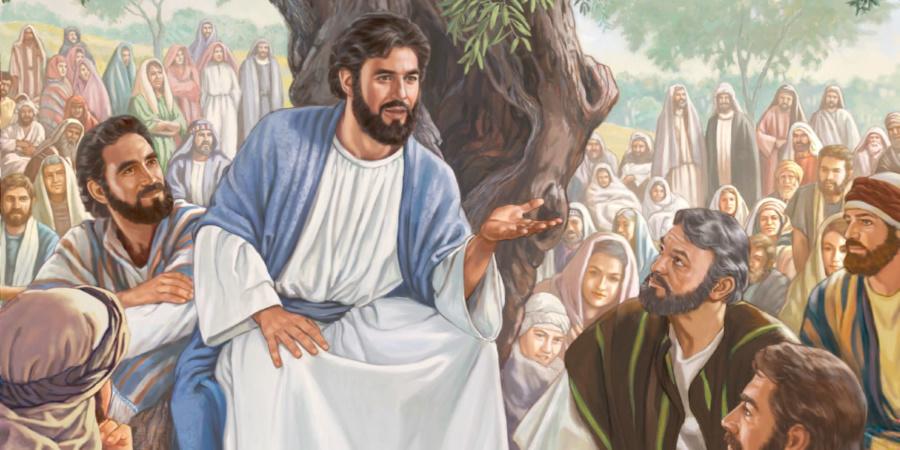 jezusz z apostolami 900x450 - Czytanie na poniedziałek 15 lipca 2019