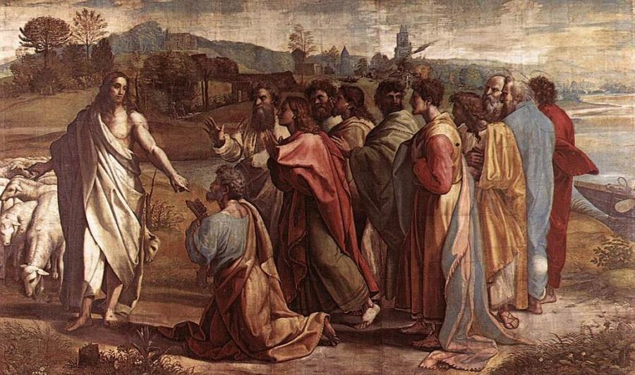 Jezus z uczniami nad jeziorem 900x532 - Czytanie na wtorek 24 marca 2020 - Wielki Post