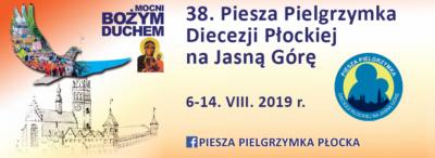 Pielgrzymka Płocka grupa granatowa 2019