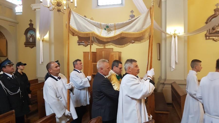 20190804 132700 900x506 - Święto w naszej Parafii Matka Boża Śnieżna jest już z nami 300 lat w głównym ołtarzu.