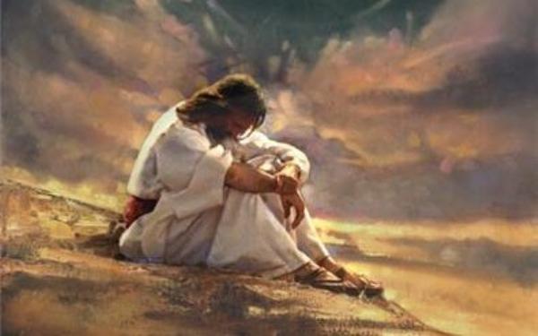 jezus na pustyni - Czytanie na dzień 21 luty 2021 - Pierwsza Niedziela Wielkiego Postu